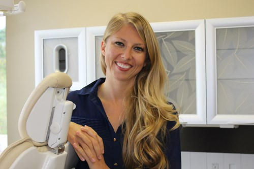 Dr. Laura Yura is the director of the center for dental innovation.